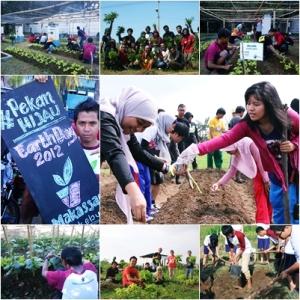 Berbagai Aktivitas Makassar Berkebun. (Gambar: Doc. @MksrBerkebun)